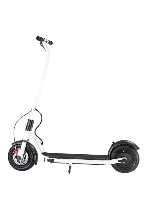 Bicicleta electrica blanca s012