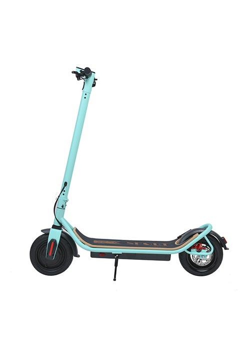 Scooter eléctrico verde S006